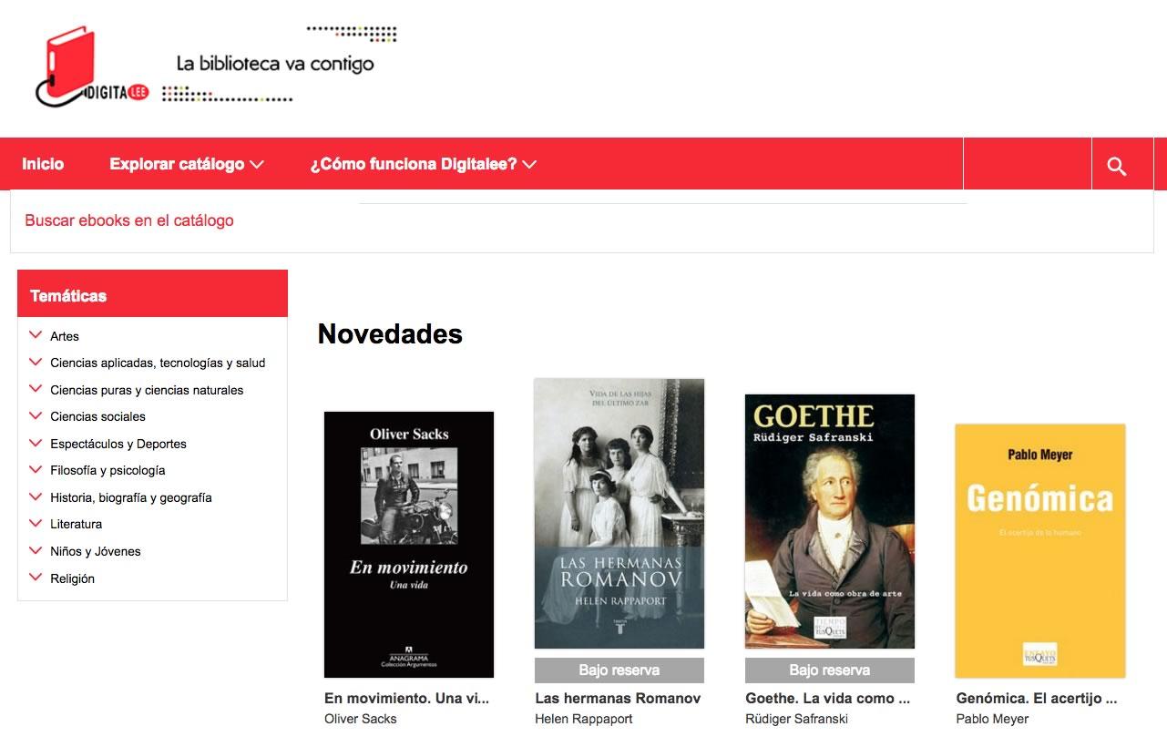 Digitalee, una nueva forma de impulsar la lectura.