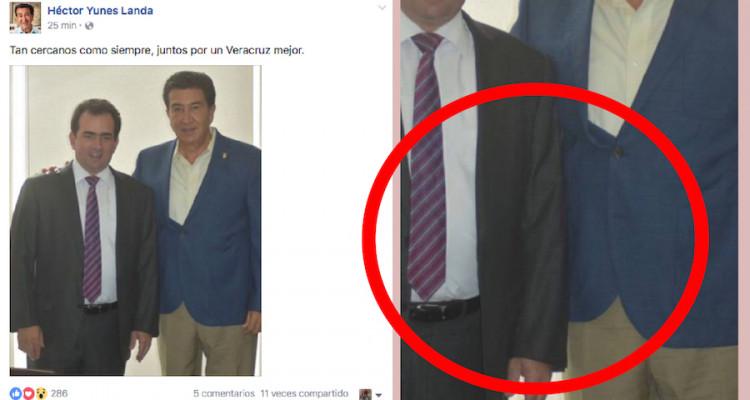 Héctor Yunes botón