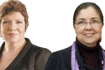 Gina Domínguez y Zaida Lladó
