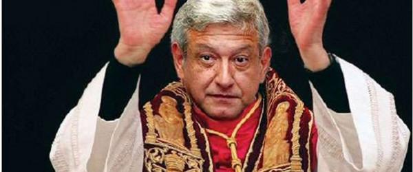 AMLO obispo