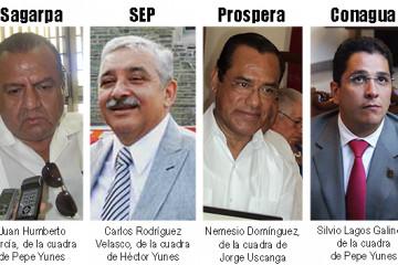 Nuevos delegados