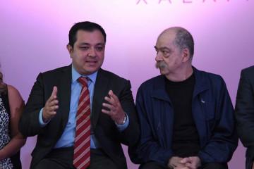 Américo Zúñiga y Abraham Oceransky