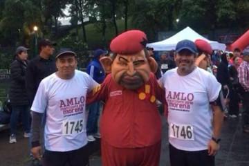 Morenistas y Hugo Chavez