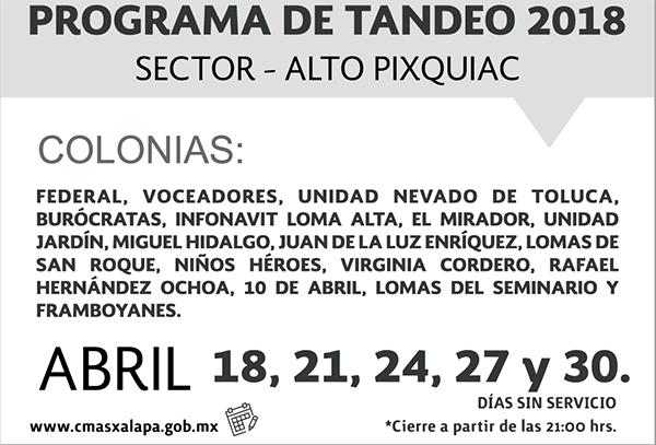 Tandeo Alto B