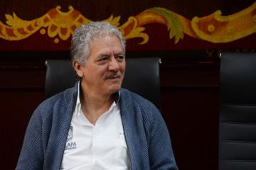 """Hipólito Rodríguez: """"Las cámaras no pueden colocarse bloqueando una banqueta, rampas para personas discapacitadas o afectando áreas verdes"""""""