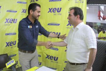 Miguel Ángel Yunes Márquez y Pepe Yunes