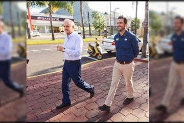 Juan Manuel Diez Francos y Miguel Ángel Yunes Márquez