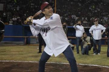 Cuitláhuac García beisbol