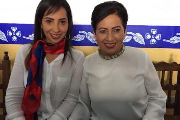 Gloria y Carolina Galván