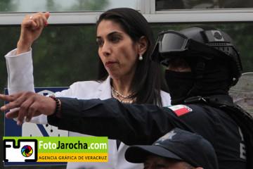 VERONICA HERNÁNDEZ TOMA POSESIÓN DE LAS INSTALACIONES DE LA FISCALÍA GENERAL DEL ESTADO