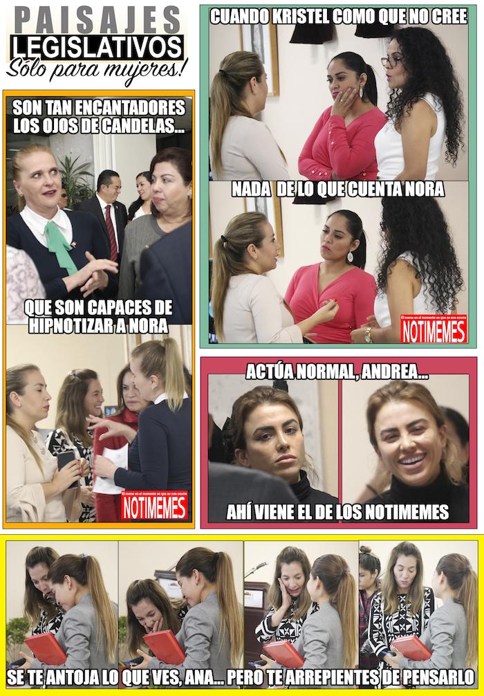 Paisajes mujeres