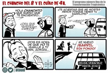 Cuitláhuac y Eric Cisneros