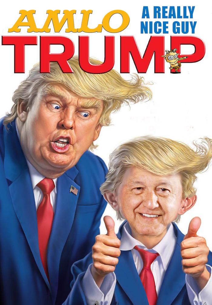AMLO Look Trump