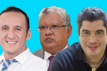 Checo, Vicho y Chapito
