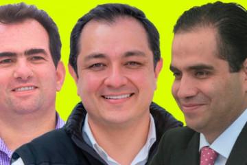 Pepe Yunes, Américo Zúñiga, Adolfo Mota
